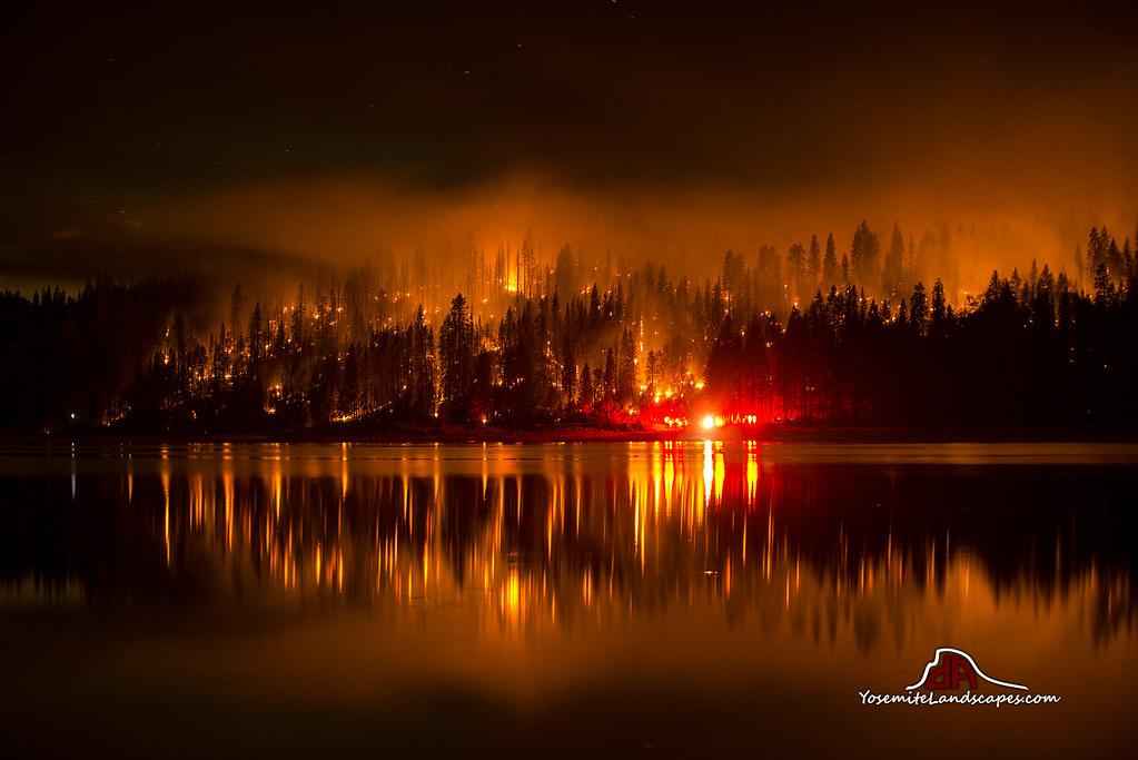 Courtney Fire - Bass Lake, California