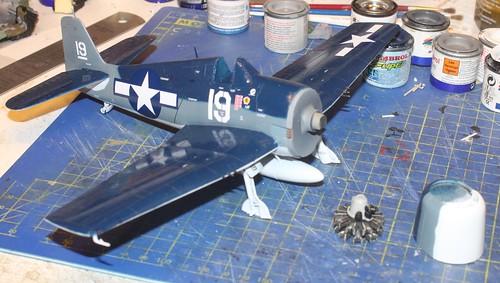 """Grumman F6F-3 Hellcat, """"Vit 19 Vraciu"""", Eduard 1/48 - Sida 3 38172011971_cf17237bc2"""