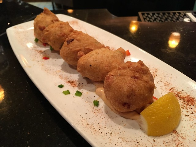 Shrimp beignets - Lynchburg Legends Bar & Grill