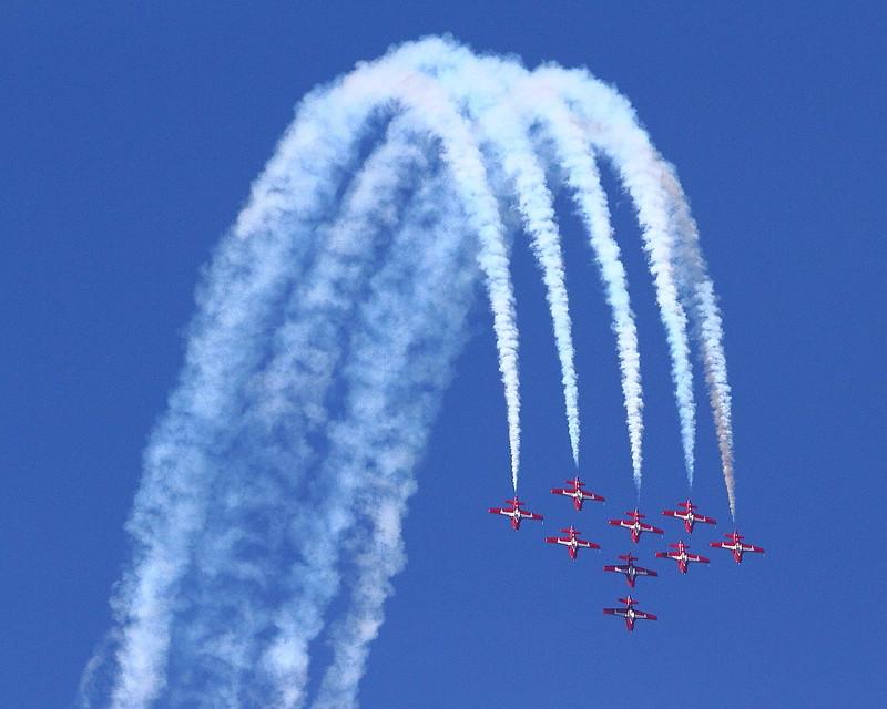 IMG_4455 Canadian Forces Snowbirds, Huntington Beach Air Show