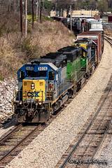CSX 8036 | EMD SD40-2 | CN Fulton Subdivision