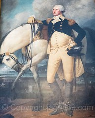 George Washington Painting (1790) by John Trumbull, New York City Hall, Lower Manhattan, New York City