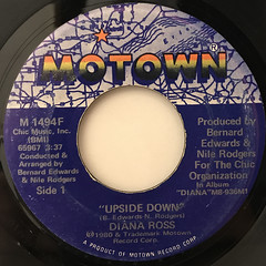 DIANA ROSS:UPSIDE DOWN(LABEL SIDE-A)