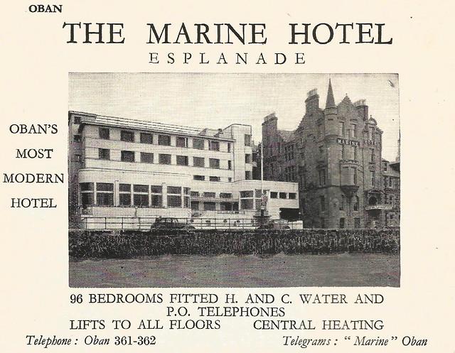 Marine Hotel, Oban