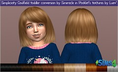 Simpliciaty Caulfield Hair Toddlers # Pooklet textures
