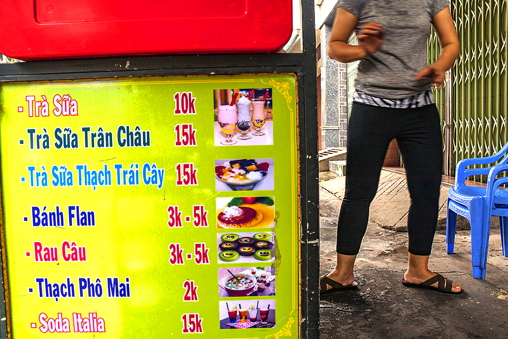Sweet drink seller--Saigon