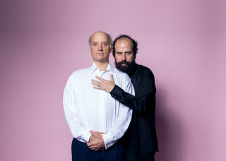 Frank Wood and Brett Gelman