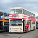 New Enterprise Coaches ex London Transport Daimler Fleetline THM 614M, Tonbridge, 27th October 1990