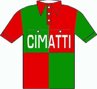 Cimatti - Giro  d'Italia 1950