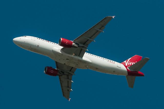 Virgin America entourage air