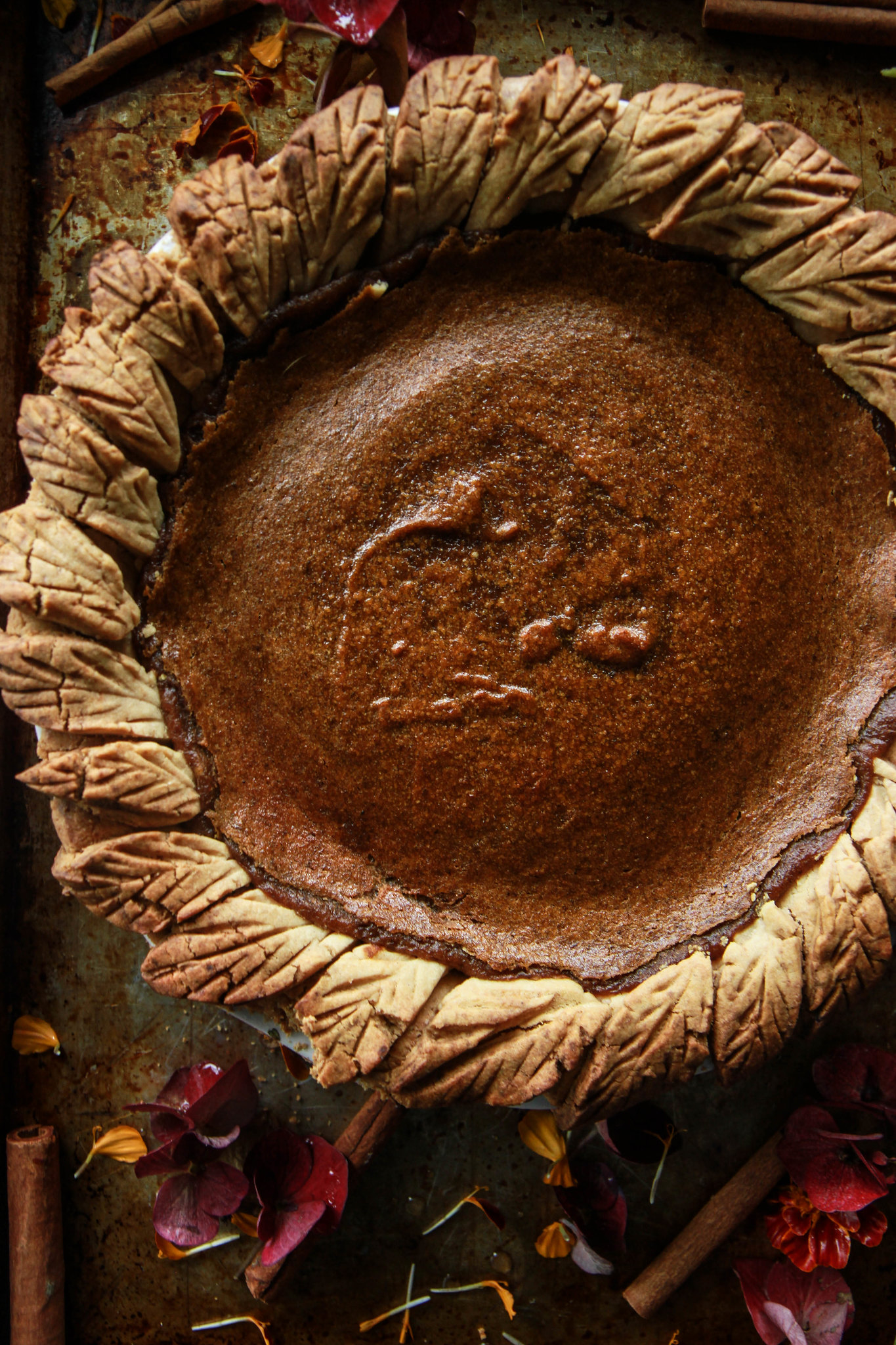 Vegan Gluten-Free Pumpkin Pie from HeatherChristo.com
