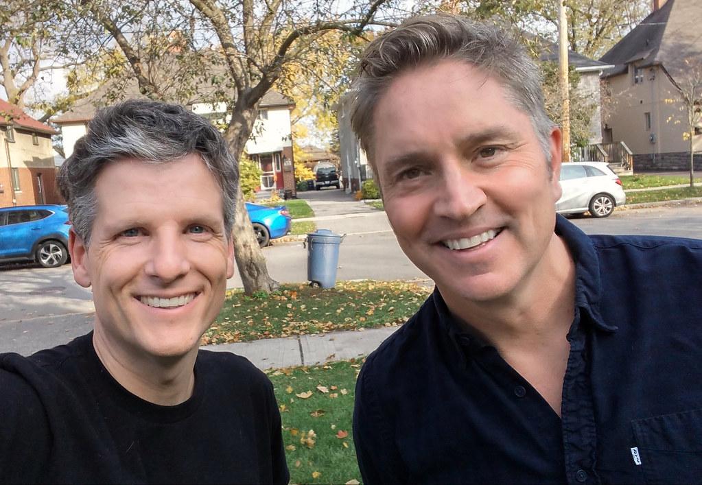 Brad Fay and me