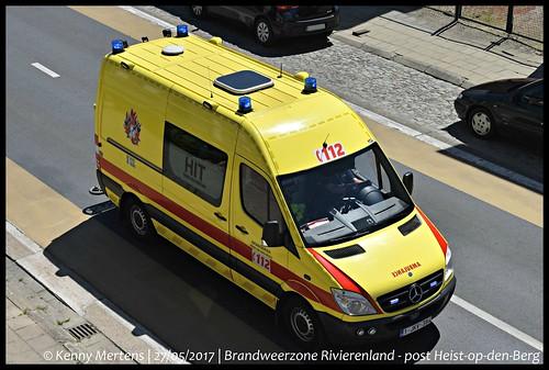 Brandweerzone Rivierenland - post Heist-op-den-Berg - Ambulance