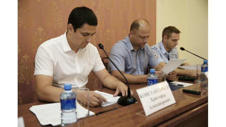 На Кубани обсудили обеспечение безопасности в гостиницах, отелях и других средствах размещения