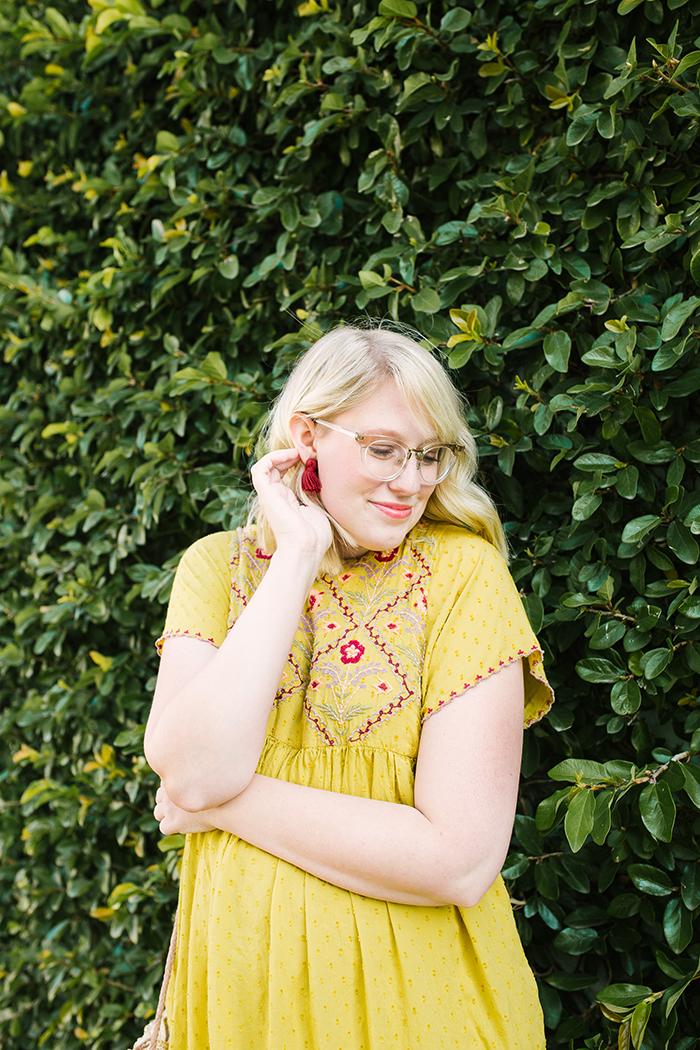 austin fashion blogger writes like a girl yellow zara dress15