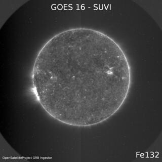 GOES 16 - SUVI - Fe132