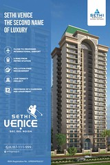 Ongoing Projects in Noida Expressway – Sethi Venice
