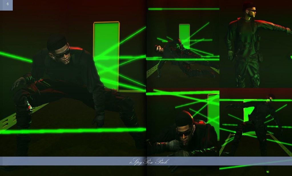 "DRAFT - ""iSpy"" Male Pose Pack Ad - TeleportHub.com Live!"