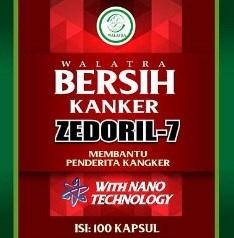 Cara Pemesanan Walatra Zedoril 7 Sehat Kanker