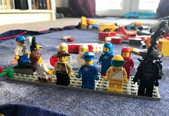 Assemble the Lego troops