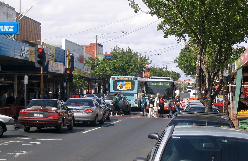 Centre Road, Bentleigh, September 2007
