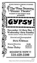 1973 four seasons dinner theater