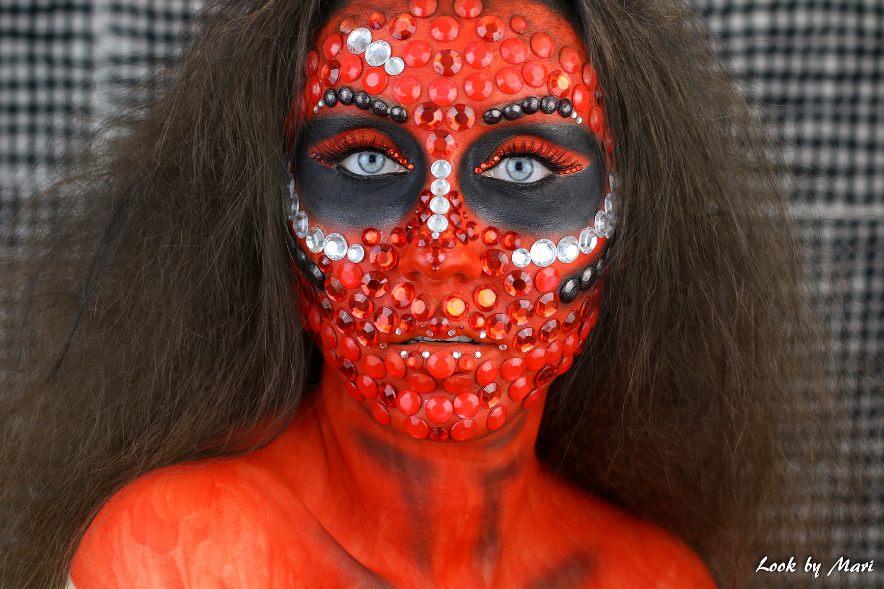 6 halloween diamond skull tutorial video inspiration inspo ideas blog