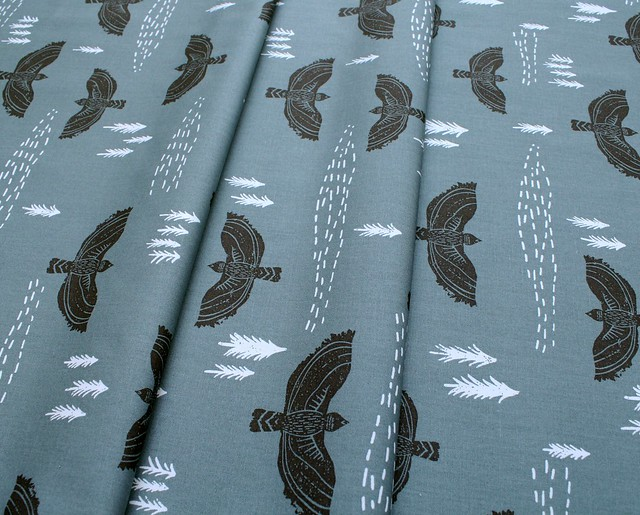 Art Gallery Fabrics Lambkin Wind Observer Slate