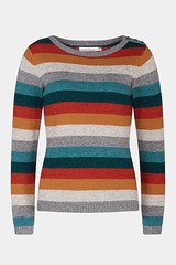Seasalt Trumpet jumper sweater, striped
