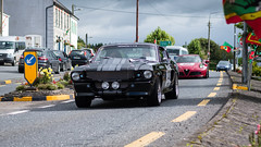 Old Mustang cannonball run Ireland