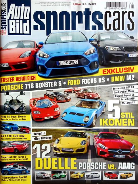 Auto Bild Sportscars 5/2016