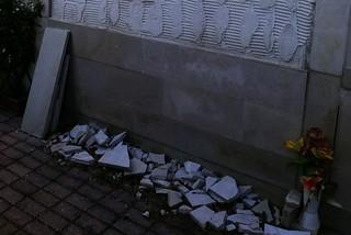 Noicattaro. Degrado cimitero front
