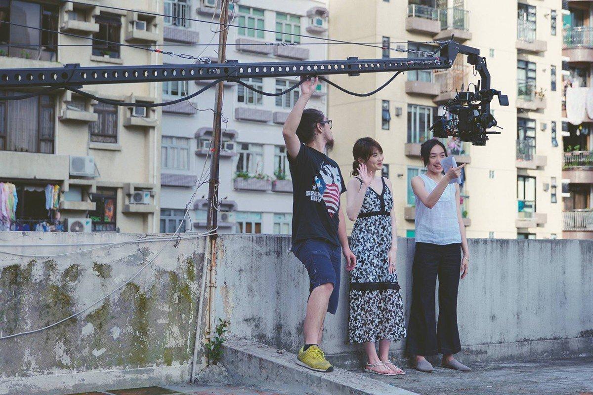 《短暫的婚姻》拍攝情況(圖片來源:陳志發 Stevefat facebook)