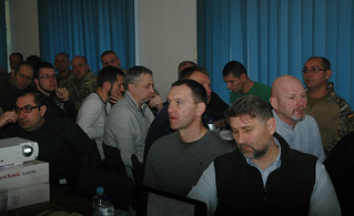 На Донеччині відповідальні за територіальну оборону посадовці обмінювалися досвідом з литовськими та естонськими колегами