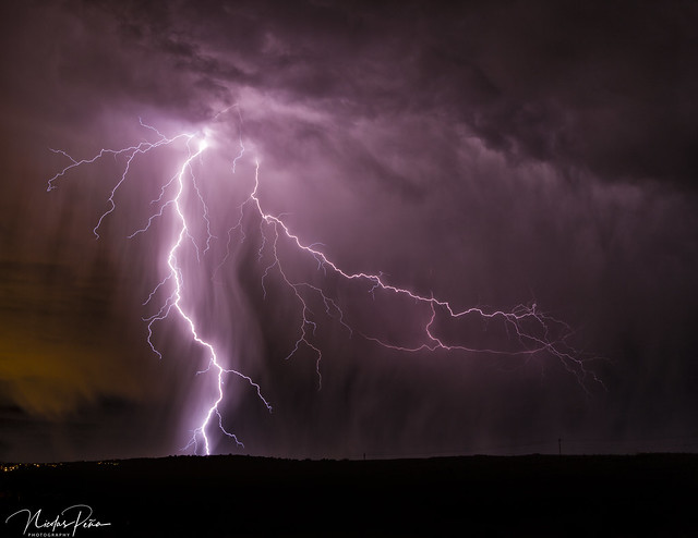 Fall Monsoon Lightning