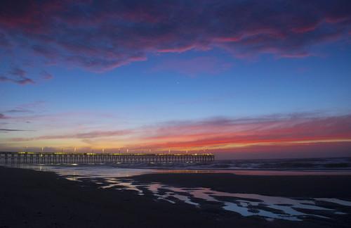 venus beach topsailisland surfcity sunrise surf fishing pier