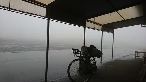 次の日は雨だった。この後台風が来ることもあってポス夏四国九州班は解散した。