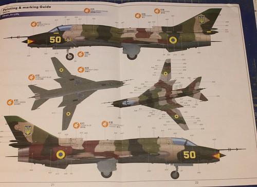 Sukhoi Su-17M3/M4 Fitter K, Kitty Hawk, 1/48 37414847300_79f3133884
