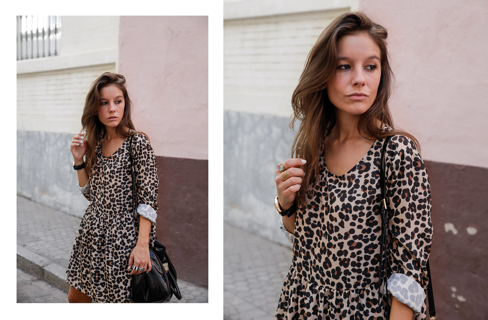 laura santolaria influencer spain barcelona theguestgirl the guest girl leopard