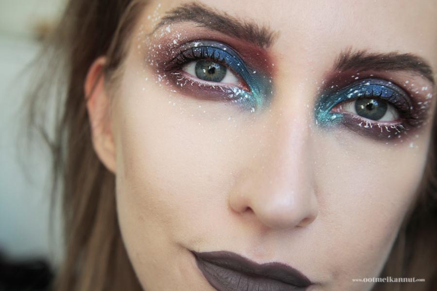 space panda makeup