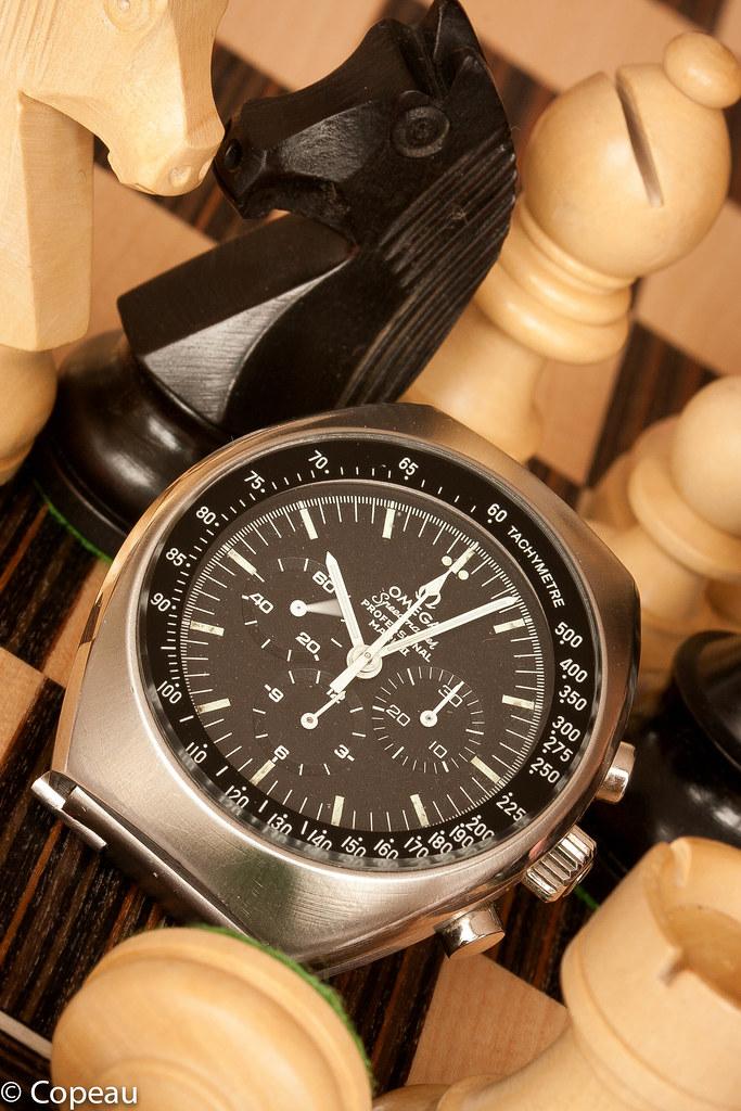 """[1969-75] ST 145.014 - Omega Speedmaster mark II, """"the eagle could have landed"""" 37517567626_192141affc_b"""