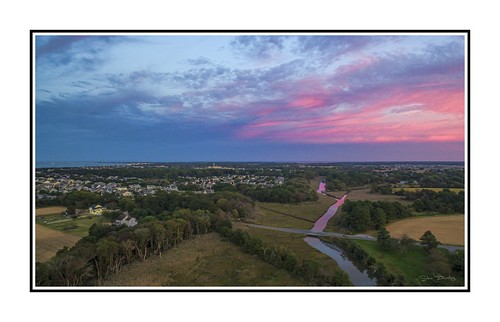 lewes sunset capehenlopen sky dji aerial
