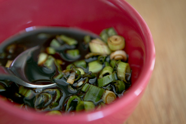 Green Onion Soy Sauce