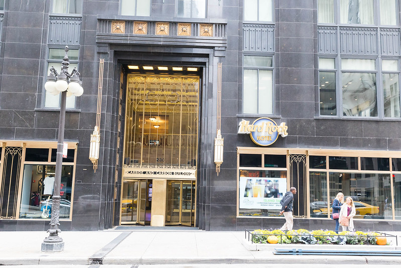 Hard Rock Hotel im Carbide and Carbon Building