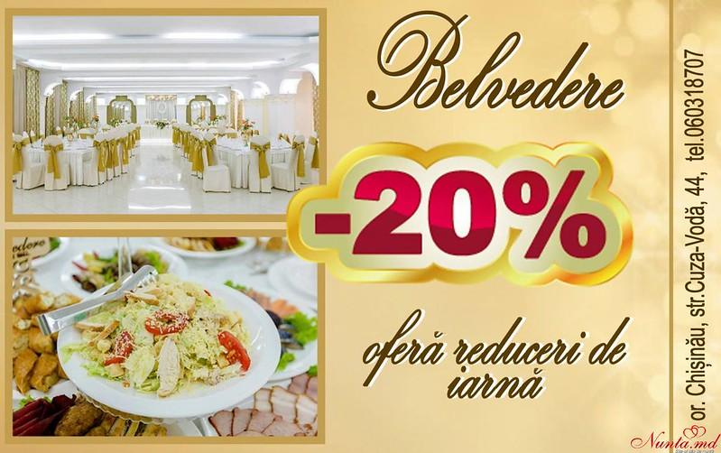 """Restaurantul Belvedere > Ofertă fierbinte de la Restaurantul """"Belvedere""""!"""