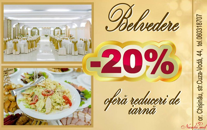 "Ресторан Belvedere > Горячее предложение от Ресторана ""Belvedere""!"