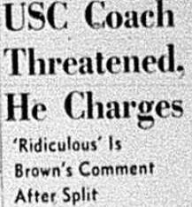 USC Coach