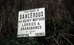 Dangerous for charabancs