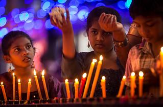 Bangalore, India: com os olhos fixos em Maria
