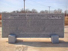 Marker for Treece, 31 Jan 2017